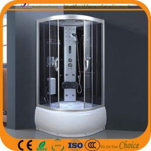 La Puerta de ducha de cristal de color gris para el cuarto de baño (ADL-8090)