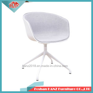Moderner Entwurf die meisten bequemes Heu-halbes Deckel-Gewebe-Metallbein-kühlen Büro-Stühle