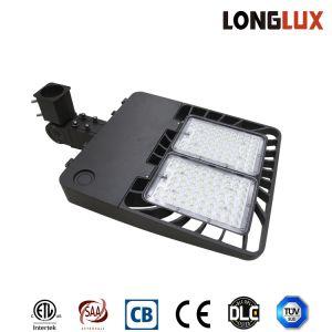 UL/Dlc enumerados AC100-277V 100W área al aire libre caja de zapatos Calle luz LED