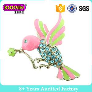 Il piccolo Brooch unico del metallo di figura dell'uccello per le donne comercia