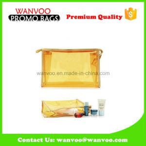 Jelly brillo personalizadas baratas de plástico PVC bolso cosmético