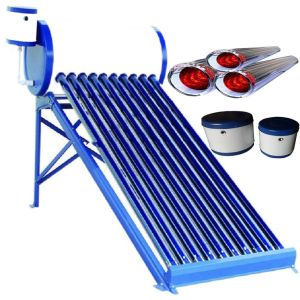 150 L de aço galvanizado aquecedor solar de água de baixa pressão