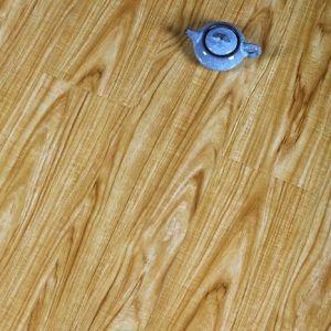 Materiais de construção piso laminado piso laminado com padrão de ácer