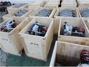 Macchina del saldatore di estremità della macchina di fusione della saldatrice del tubo dell'HDPE Shr160