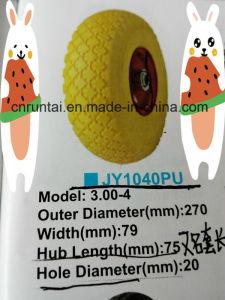 Циндао, высокое качество долгосрочных дешевые PU колеса (3.00-8)