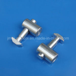 Connector centrale Steel per 40 Series Extrusions