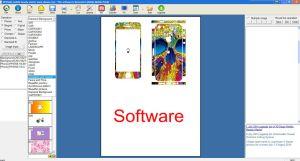 Software para telemóvel caso o design da tampa da pele