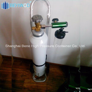 De Cilinder van de Zuurstof van het Staal van Pw 150bar/300bar 10L met Goedkeuring Tped/Ce