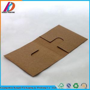 Tipo de envelope de dobragem de papel Kraft Caixa de embalagem de CD