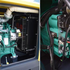 Reserveleistungs-leiser Typ 55kVA vier Zylinder-Energien-Generator-Set