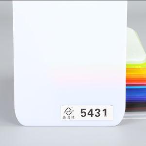 アクリルLEDの軽い基礎パネル3mm白いPMMAシート(工場直接価格)