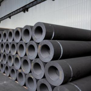 Eléctrodos de grafite UHP Making-Steel (Ultra Alta Potência) grau com 550-700Dia mm e bocais de lubrificação