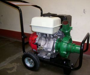 ガソリン鉄の水ポンプ3インチ