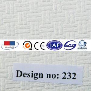 Placa de teto de gesso laminado de PVC com revestimento de alumínio219