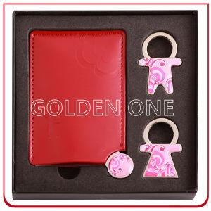 Gift Key Chain와 Compact Mirror Gift Set 숙녀의