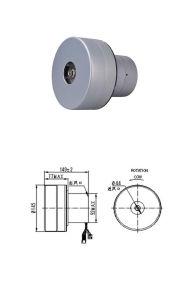 Aspirador sin escobillas curricán eléctrico motor de CC