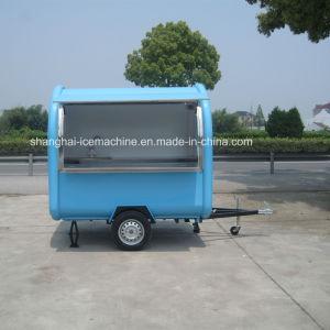 電気アイスクリームの貴重品箱の移動式コーヒー通りの冷たい飲み物容易な操作BBQの台所店の移動式食糧トレーラーを販売するカスタマイズされた便利なモール