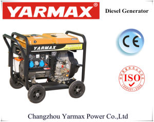 Generatore diesel della saldatura del generatore di funzione doppia raffreddato aria di Yarmax