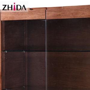Горячая продажа гостиной цельной древесины шкафа электроавтоматики