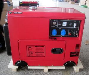 7 Квт с водяным охлаждением воздуха одного цилиндра портативный Silent дизельного генератора Set/генераторах/генератор