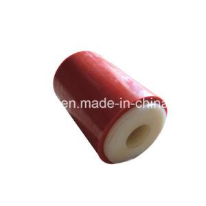 Enduit de caoutchouc naturel couverts Nylon Plastique poulie de courroie trapézoïdale// le rouleau de roue