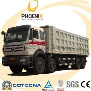 Lage Prijs 30cbm Beiben Ng80 Cabine 12 Vrachtwagen van de Kipper van Wielen de Zware voor Afrikaanse Marketing
