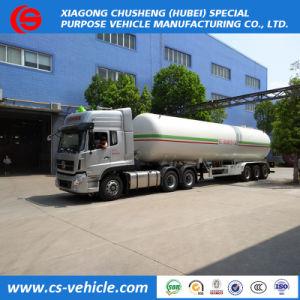 56000литров грузового прицепа газового баллона 3 моста прицепа газового баллона