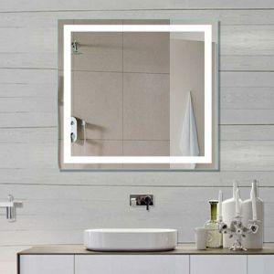 5 мм в стену алюминиевая рама отель утвержденном CE LED подсветкой зеркала в ванной комнате