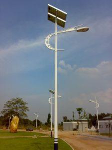 60W LEDの8mポーランド人の太陽街灯