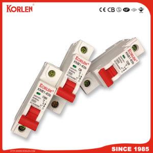 Miniatuur Stroomonderbreker Knb1-63-2014 3ka /6ka 1-5A, 6-25A, 32-63A 1p, 1p+N, 3p 3+N, 4p