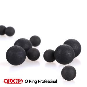 Sfera di gomma senza giunte nera solida dell'alto puntello flessibile di Viton 50