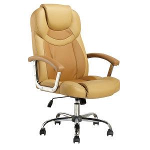 高い背部管理の家具の旋回装置マネージャの革オフィスの椅子(FS-8602)