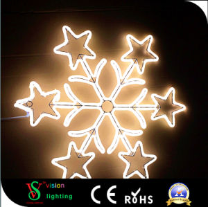 Weihnachtsbaum-Dekoration-Verzierung-Lichter