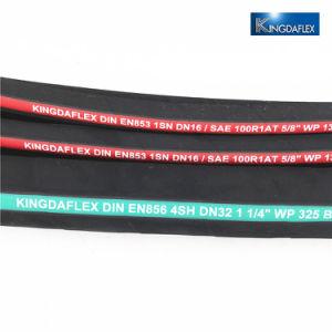 Kingdaflex la máxima calidad de goma de alta presión de la manguera hidráulica