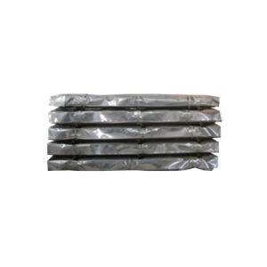 200gsm recouvert de zinc de tôle en acier de toiture en carton ondulé