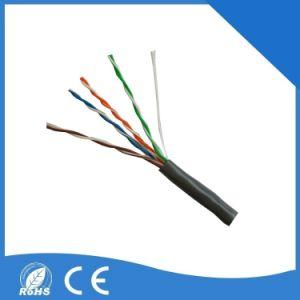 Red UTP Cat5e 4 pares trenzados no apantallados Cable LAN Cable de comunicación