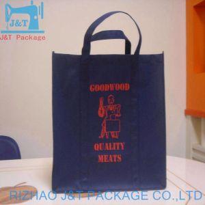 China PP Corda Comercial Biodegradáveis Jornal Puxador de saco não tecidos promocionais reutilizáveis