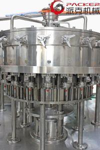 De de automatische Sprankelende Drank van het Glas Fles en Bottelmachine van de Drank