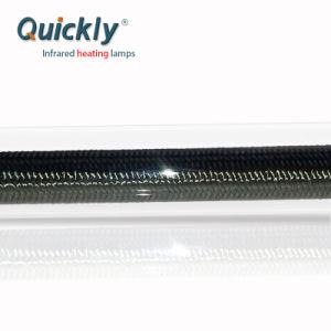 単一の水晶管の赤外線ランプを熱するCarborのファイバー