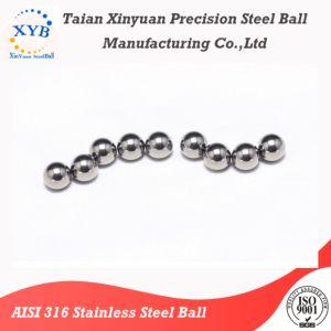 AISI 316 420 420c 440 440c as esferas de aço inoxidável G28 G40 para o rolamento automático usando