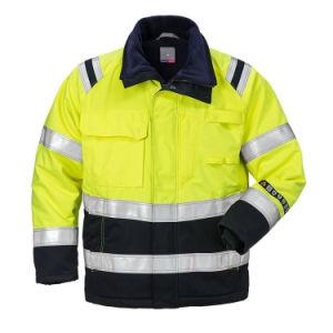 Hola Visible de Poliéster 100 resistente al agua bandas reflectantes chaquetas de seguridad de invierno