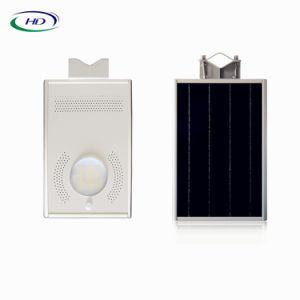 12W LED esterno tutti in un indicatore luminoso solare del giardino del sensore