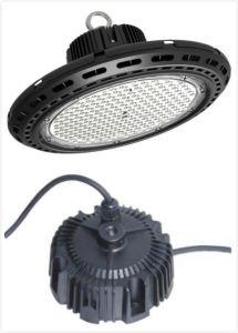 Alta de la luz de la Bahía de Lumlux IP67 OVNI Controlador de LED de alimentación 150W con 0--10V y atenuación de PWM. Certificado CE y UL