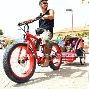 شاطئ إطار العجلة سمين كهربائيّة دراجة لأنّ رجال إستعمال