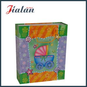 쇼핑 운반대 종이 봉지를 포장하는 3D 아기 선물로 주문을 받아서 만드십시오