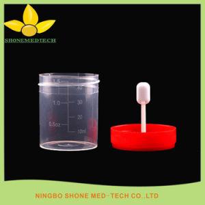Spécimen tasses avec pointe de la température