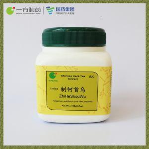 Préparé Fleeceflower racine Extrait de thé aux herbes pourrait dynamiser le foie et rein, de renforcer les os et des muscles et les cheveux noirs