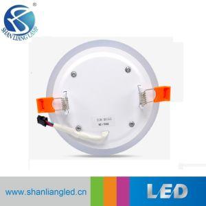Indicatore luminoso di comitato rotondo di colore 24W LED del doppio del comitato
