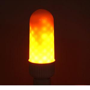 E27 Luz de Gravação de LED Lâmpada chama de cintilação lâmpadas chama de fogo