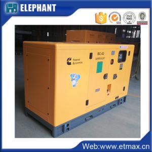 45квт 56Ква Cummins Silent переносной генераторной установки дизельного двигателя